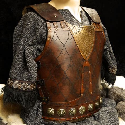 lederkraft leather armor leather leather armor body