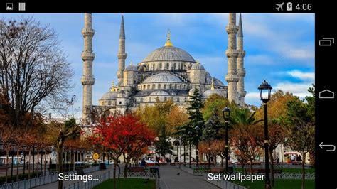 Blue Mosque Wallpaper by Blue Mosque Live Wallpaper Android Apps On Play