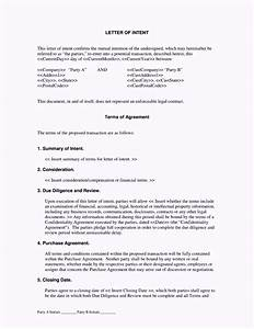 contractor letter of intent template template update234 With letter of intent template construction