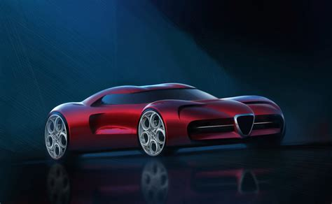 Alfa Romeo Supercar by Does This Alfa Romeo Supercar Design Study Work For You