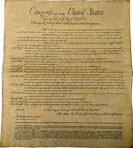 Pictures Of The First Amendment Of The Bill Of Rights