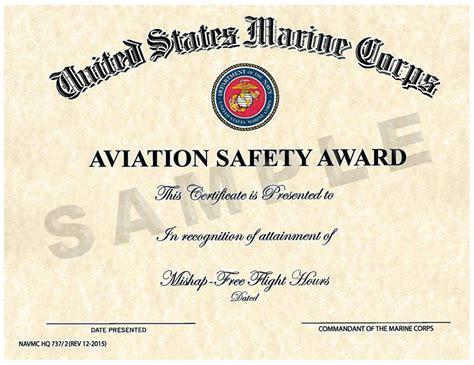 Safety Certificate Template by Safety Achievement Certificate Template Gallery