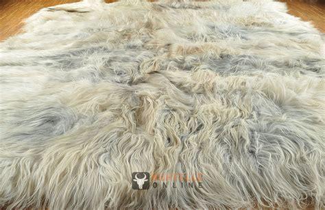 lammfell teppich grau 214 ko lammfell teppich grau 200 x 240 cm mit 8 schaffellen