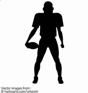 American Football Silhouette Vector Pictures to Pin on ...
