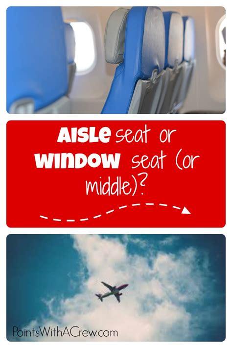 aisle seat  window seat  middle  definitive