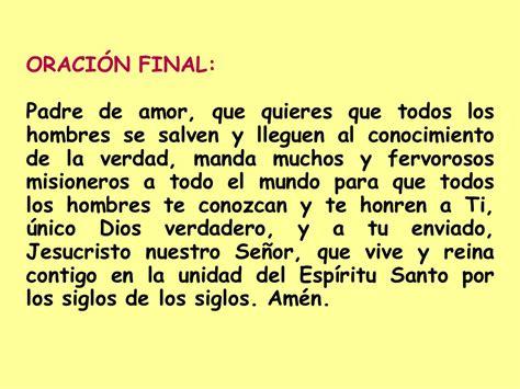 oracion misionero la mision catolica oracion misionero la mision catolica el rosario