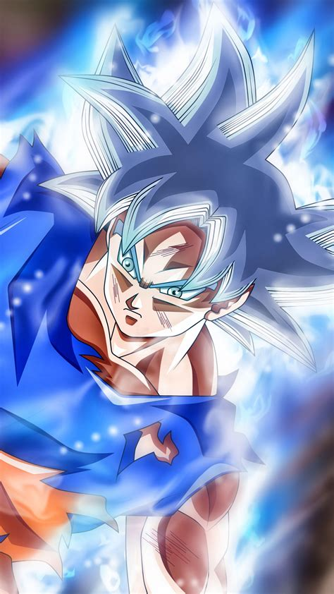 mastered ultra instinct goku wallpapers wallpaper cave