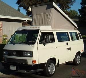 Van Volkswagen California : 1988 vw westfalia camper california rust free van ~ Gottalentnigeria.com Avis de Voitures