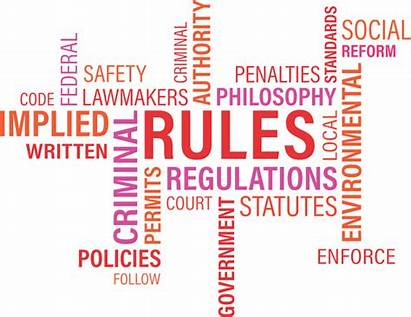 Rules Word Cloud Agency Graphic Vector Written