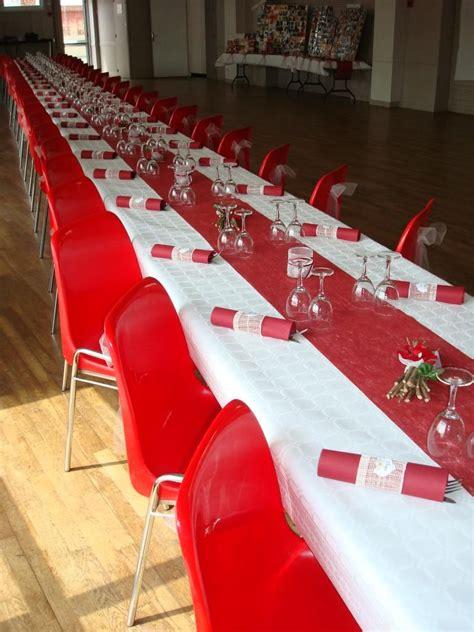 deco table rouge  blanc mariage recherche google