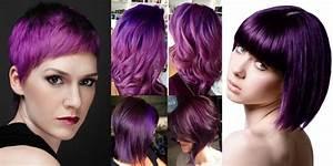 Coupe Courte Cheveux Bouclés : la coloration phare de 2018 les cheveux prune obsigen ~ Melissatoandfro.com Idées de Décoration