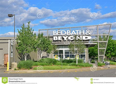 Bed Bath & Beyond Store In An Outlet Mall Editorial