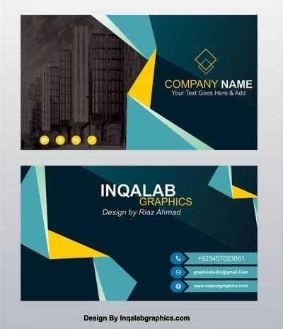 visiting card design  vector images  commercial