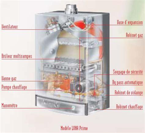 chaudiere gaz pour le chauffage et l eau chaude sanitaire