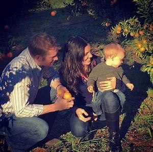 Daniela Ruah em Portugal com a família