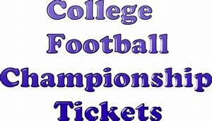 Buckeyes vs. Ducks College Football Championship Tickets ...