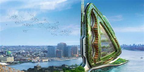 desain arsitektur  keren  canggih   depan