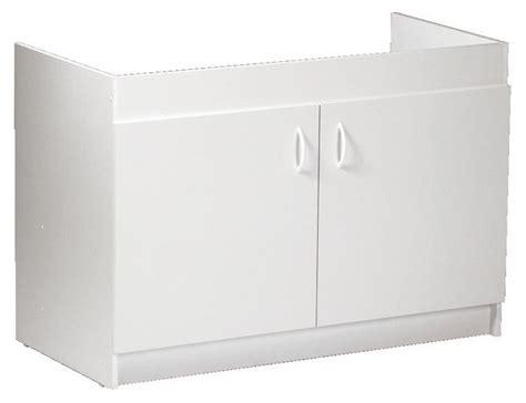 meuble cuisine sous evier 120 cm meuble sous évier 2 portes larg 120 cm brico dépôt