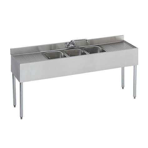 3 compartment sink sanitizer krowne 18 63c 72 quot 3 compartment sink w 10 quot w x 14 quot l bowl