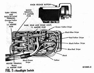 55 Headlight Switch Removal Problem