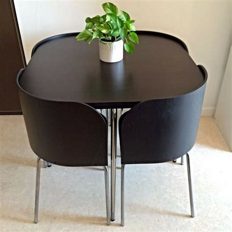 space saving kitchen table ikea ikea fusion space saving small dining table and chairs