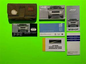 2005 Jeep Grand Cherokee Factory Owners Manual Set  U0026 Case