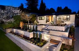 Modern House Beautiful Terrace And Landscape Home Decorating Trends Homedit