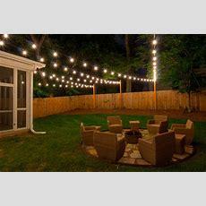 Custom String Lights  Light Up Nashville  Outdoor String