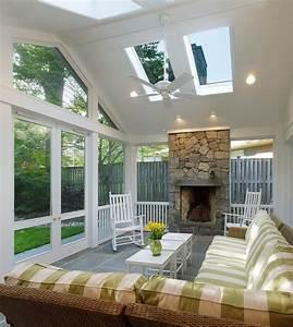 75 awesome sunroom design ideas digsdigs for Porch interior ideas uk