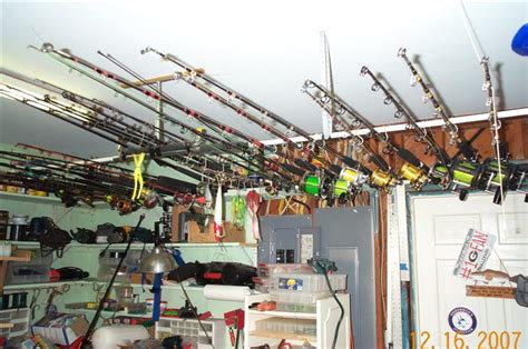 post your ceiling mounted rod holders the hull boating and fishing forum