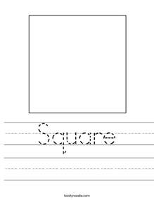 letters for kindergarten worksheets square worksheet twisty noodle