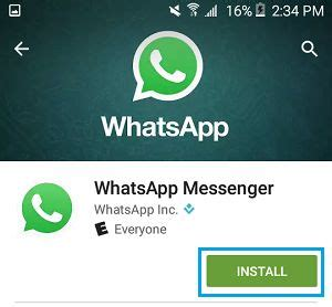 how to reinstall whatsapp on android phone without losing messages