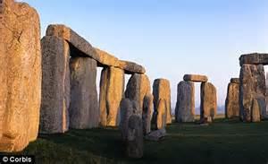 Famous Landmark in England Stonehenge