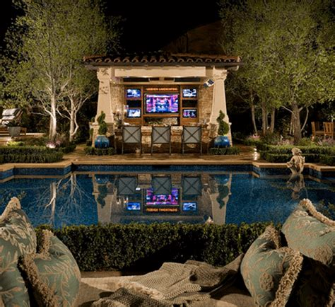 image of fireplace surround ideas 11 amazingly expensive backyards you would die for