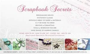 Scrapbook secrets scrapbooking wedding invitations for Wedding invitation printing services perth
