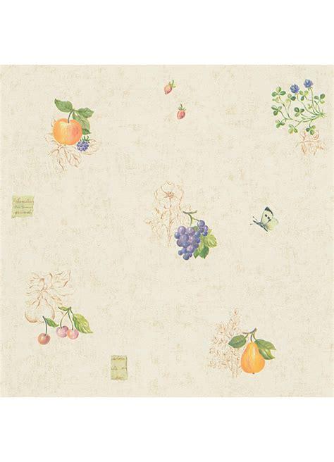papier sulfuris cuisine papier peint cuisine quot fruits et papillons quot jaune