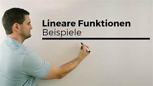 Lineare Funktionen Y Achsenabschnitt Berechnen : lineare funktionen beispiele gleichung skizze steigung y achsenabschnitt mathe by daniel ~ Themetempest.com Abrechnung