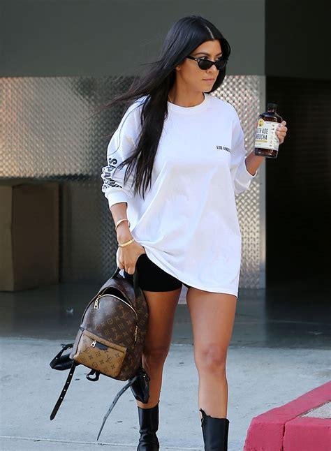 kourtney kardashian loves  mini backpacks purseblog