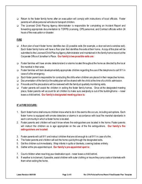 tornado emergency plan template disaster emergency plan template for families