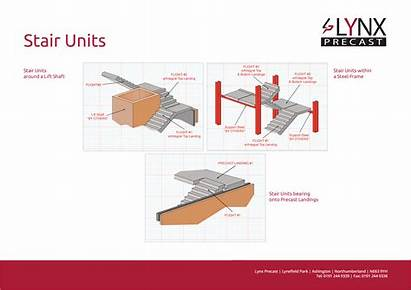 Stairs Landings Precast Concrete Typical Installation