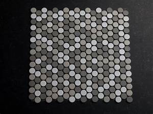 Mosaik Fliesen Rund : 19 mm keramik mosaik rund graut ne matt auf lager 52 euro arch tiles pinterest fliesen ~ Watch28wear.com Haus und Dekorationen