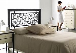 Tete De Lit En Bois : t te de lit t tes de lit en bois massif m tal bambou ~ Teatrodelosmanantiales.com Idées de Décoration