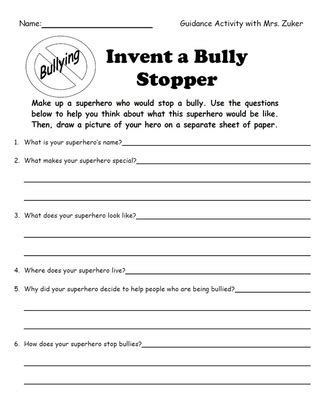 invent a bully stopper education