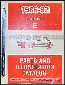 1990 Oldsmobile Toronado  U0026 Trofeo Repair Shop Manual Original