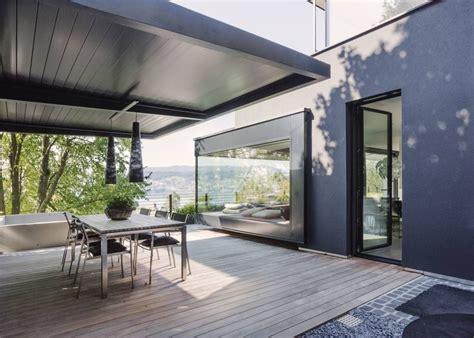 Moderne Häuser Mit überdachter Terrasse by Objekt 336 Meier Architekten Terrasse Meier