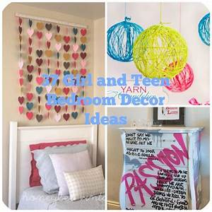 37 diy ideas for teenage girl39s room decor With diy decorations for teenage bedrooms