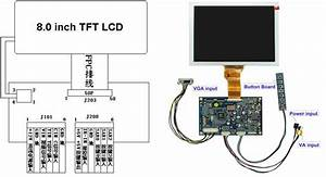 Lcd Lcd Monitor With Av Vga Input