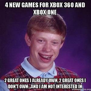4 New Games For Xbox 360 And Xbox One 2 Great Ones I