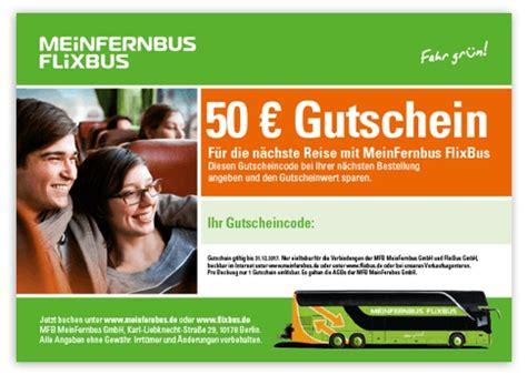 FlixBus Gutschein ⇒ 10% Rabatt, September 2018 mydealzde