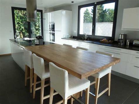 ilot cuisine avec table coulissante beau ilot central table cuisine inspirations et ilot